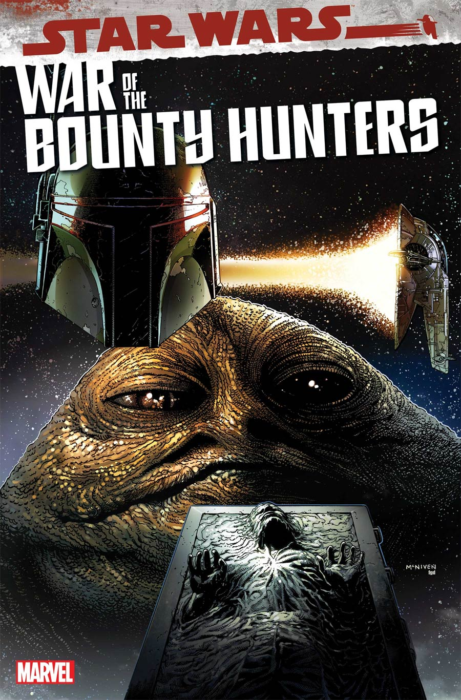 Star Wars War Of The Bounty Hunters #2 Cover A Regular Steve McNiven Cover