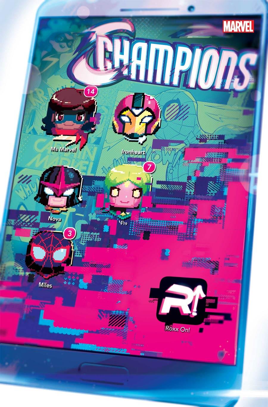 Champions (Marvel) Vol 4 #8 Cover A Regular Toni Infante Cover