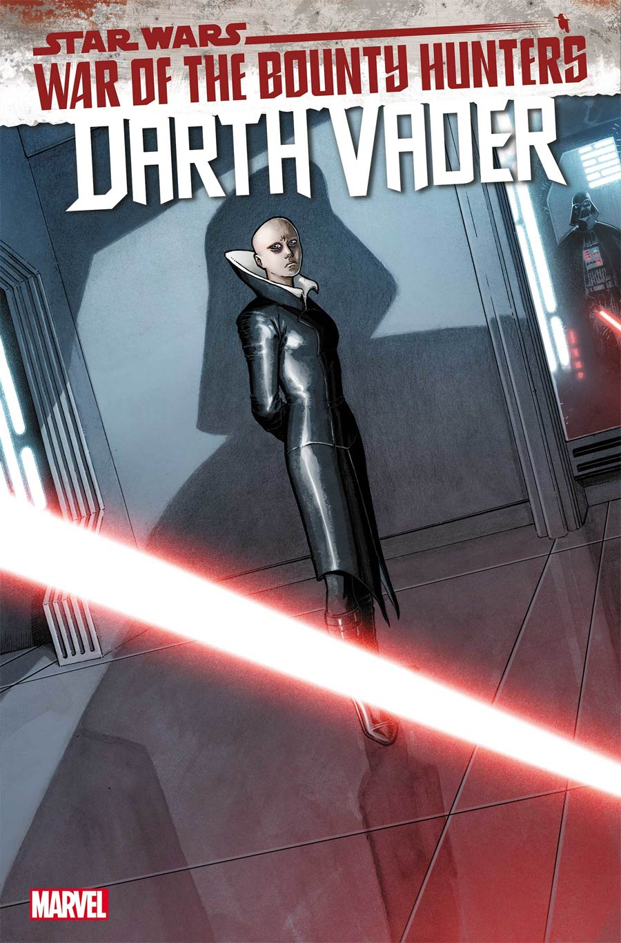 Star Wars Darth Vader #14 Cover A Regular Aaron Kuder Cover (War Of The Bounty Hunters Tie-In)