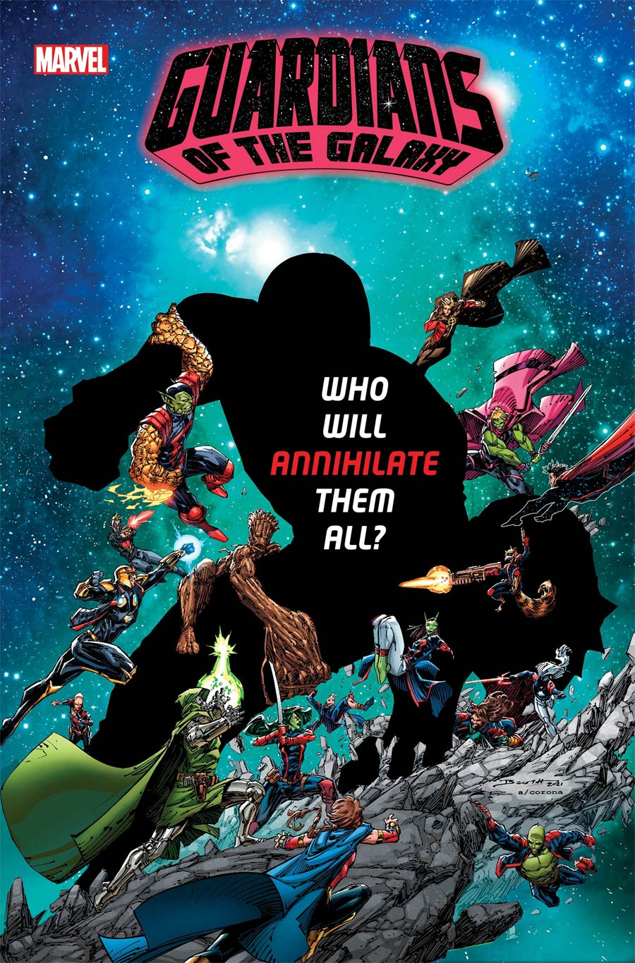 Guardians Of The Galaxy Vol 6 #16 Cover A Regular Brett Booth Cover (Last Annihilation Tie-In)