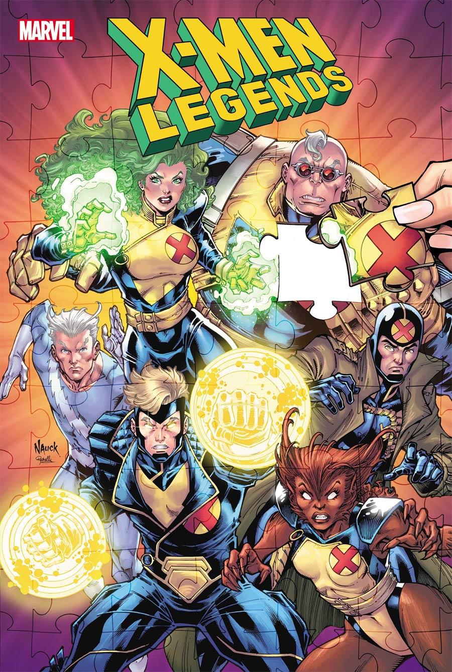 X-Men Legends #5 Cover A Regular Todd Nauck Cover