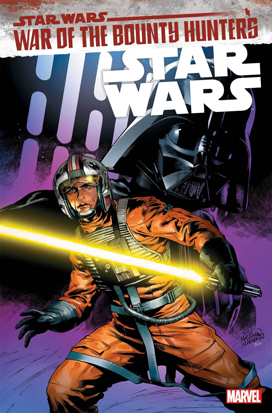 Star Wars Vol 5 #16 Cover A Regular Carlos Pagulayan Cover (War Of The Bounty Hunters Tie-In)