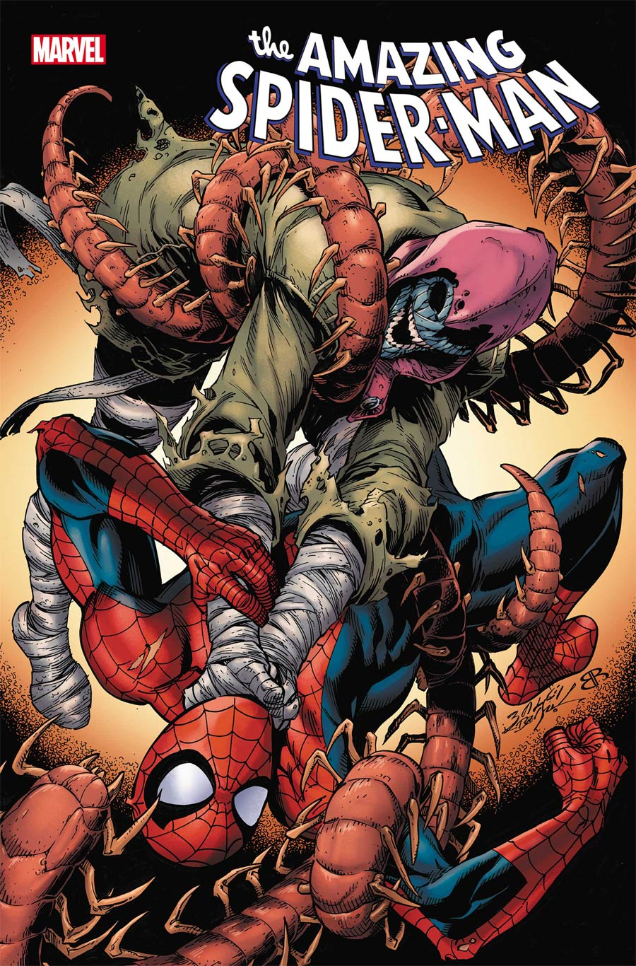 Amazing Spider-Man Vol 5 #73 Cover A Regular Mark Bagley Cover (Sinister War Tie-In)