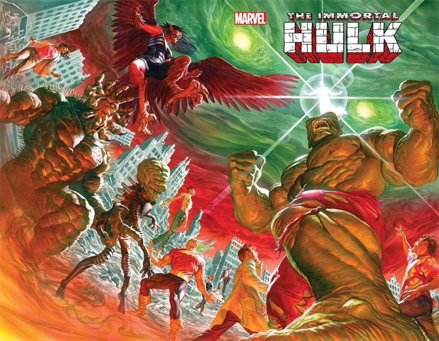 Immortal Hulk #50 Cover A Regular Alex Ross Cover