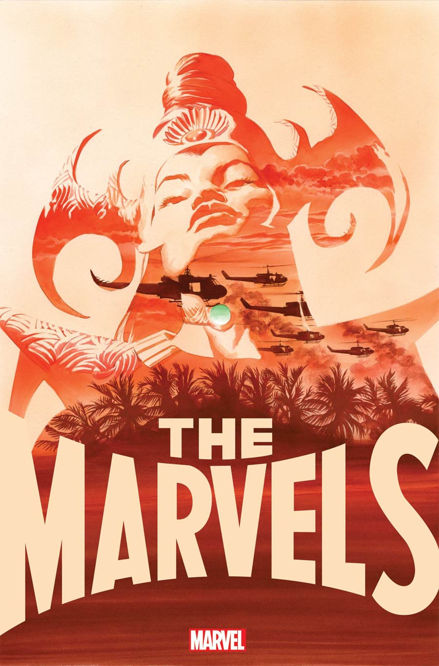 The Marvels #6 Cover A Regular Alex Ross Cover