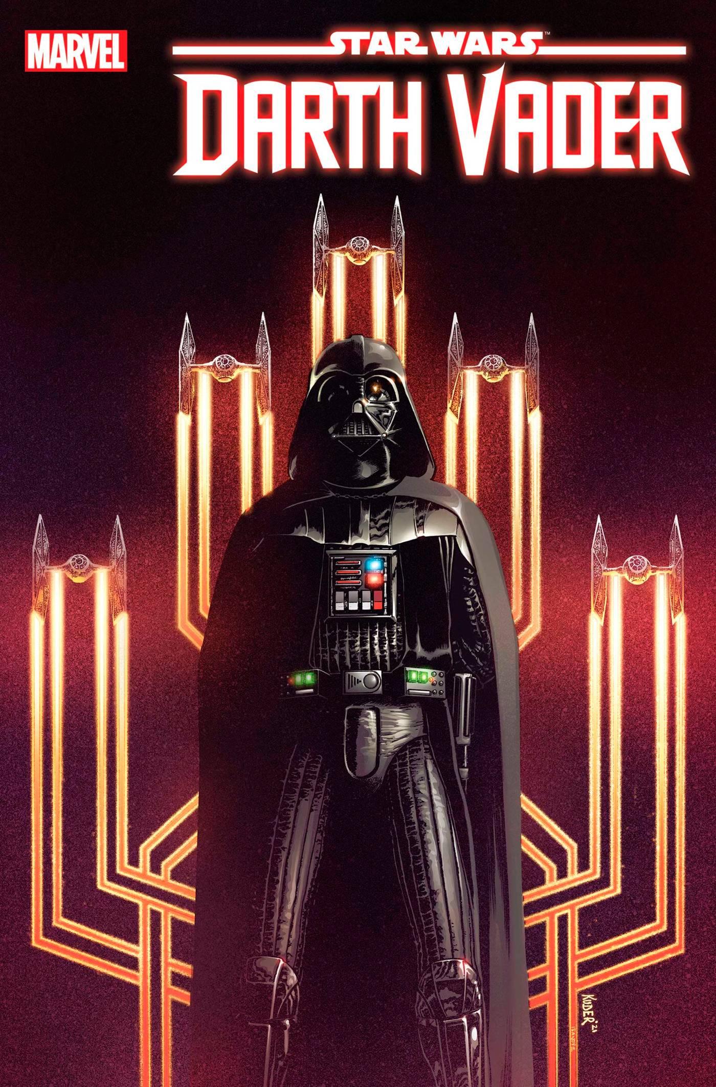 Star Wars Darth Vader #18 Cover A Regular Aaron Kuder Cover