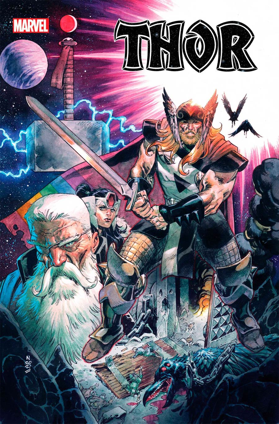 Thor Vol 6 #19 Cover A Regular Nic Klein Cover