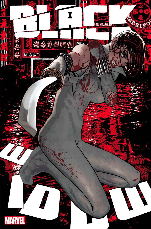 Black Widow Vol 8 #13 Cover A Regular Adam Hughes Cover