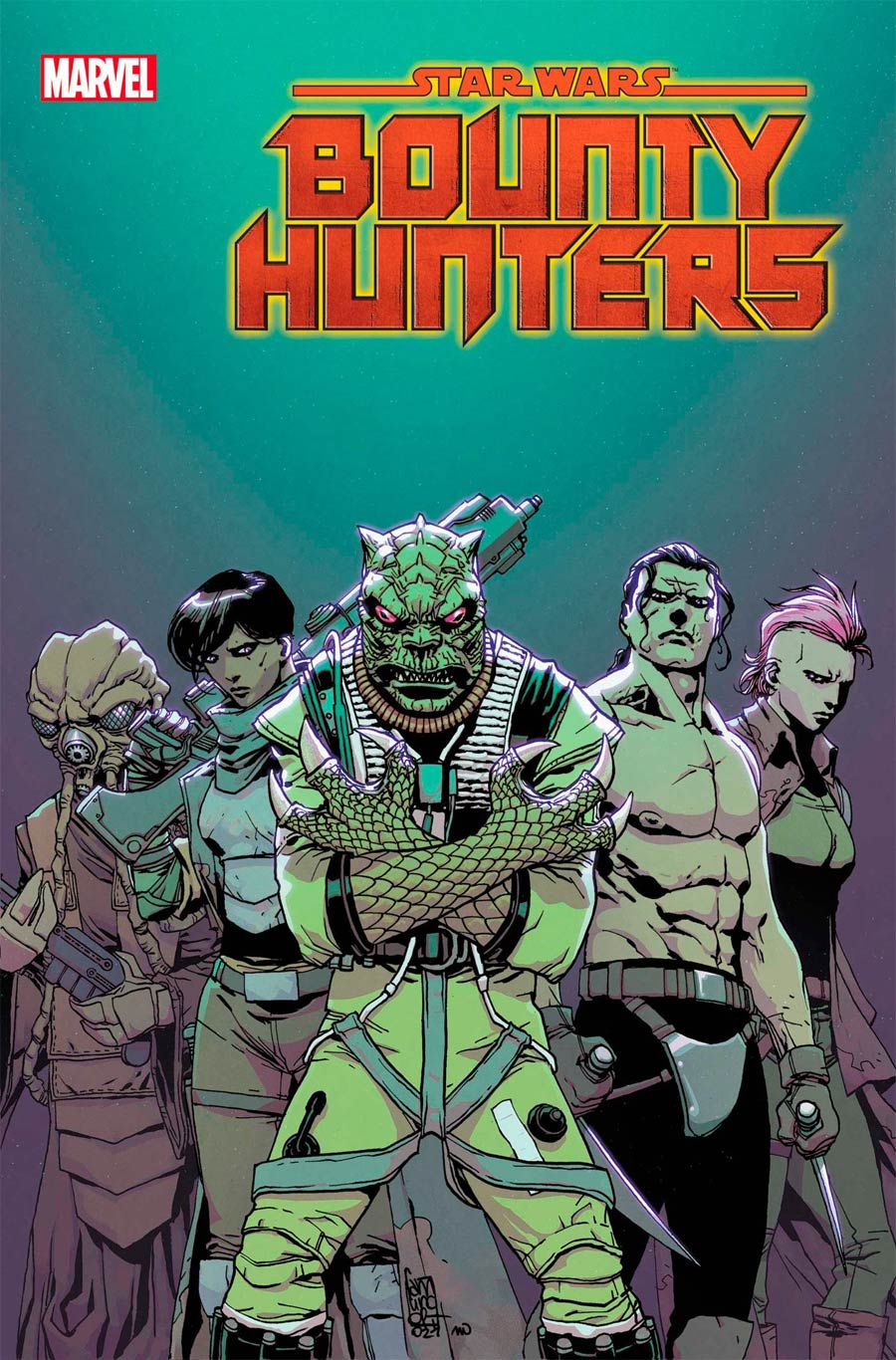 Star Wars Bounty Hunters #18 Cover A Regular Giuseppe Camuncoli Cover
