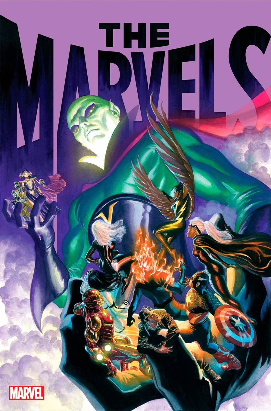 The Marvels #7 Cover A Regular Alex Ross Cover