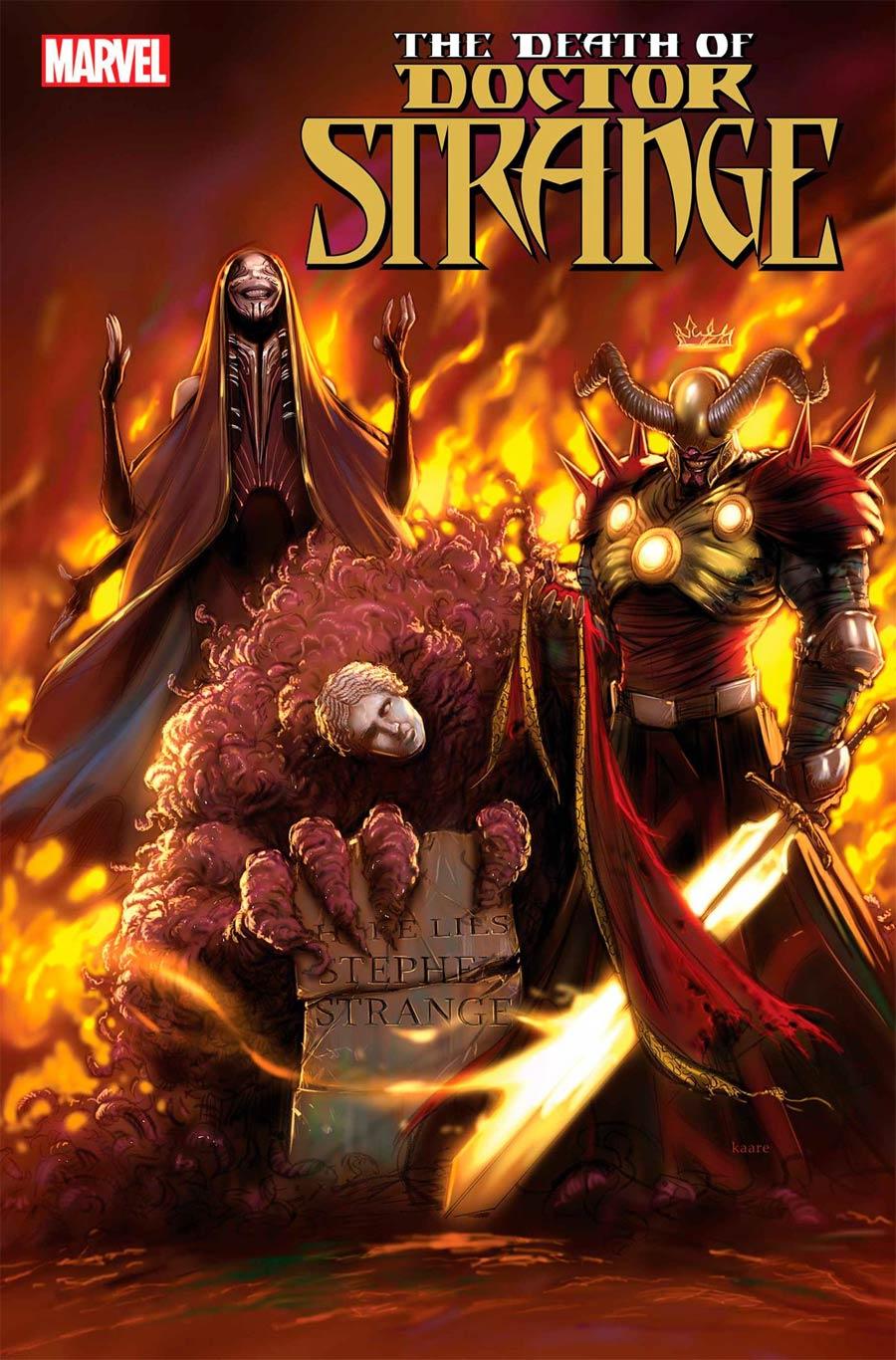 Death Of Doctor Strange #3 Cover A Regular Kaare Andrews Cover